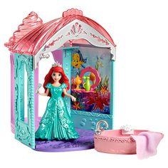 "Disney Princess Little Kingdom Ariel's Flip 'n Switch Castle Playset - Mattel Girls - Toys ""R"" Us"