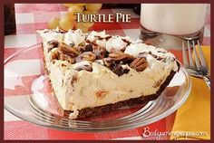 Projects & More - Turtle Pie Recipe