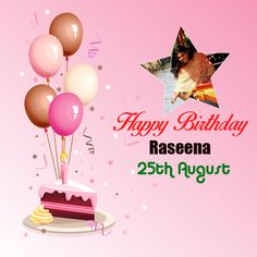 Let your all the dreams to be on fire and light your birthday candles with that. Have a gorgeous birthday. Raseena Majeed