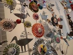 Karin Ferner exhibition Christmas Crafts, Xmas, Christmas Tree, Christmas Ideas, Upcycled Crafts, Diy Crafts, Metal Crafts, Paper Crafts, Metal Embossing