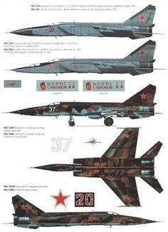 Mikoyan Gurevich Mig 25 Foxbat
