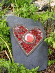 check out Kodiak Mosaic Rock Art on facebook:) Ramona does beautiful work