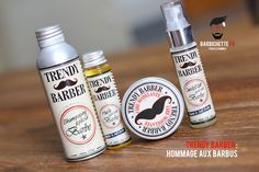 Trendy Barber : produits pour barbe - Barbichette.fr