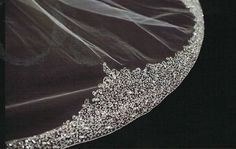 Long Bridal Veils With Swarovski Crystals | ... STUNNING!!! COUTURE Cathedral Swarovski crystal Bridal Veil - SALE