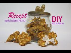 Recept na sušenky pro psy + DIY dózy na pamlsky - YouTube Animals And Pets, Herbs, Jar, Dogs, Pets, Pet Dogs, Herb, Doggies, Jars