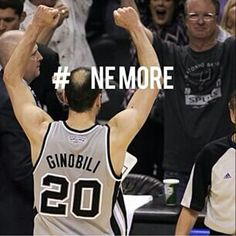 Haha! One more win and the Spurs will win this first round series against the Clippers!