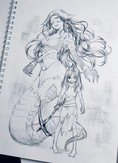 โครตเทพเลยค้าาาาาใครทำได้อย่างงี้บ้างค้า Character Concept, Character Art, Character Design, Identity Art, Monster Girl, Anime Art Girl, Vocaloid, Art Reference, Cool Art