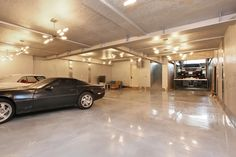 Underground Garage parking
