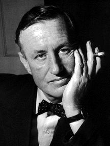 Bond author, Ian Fleming