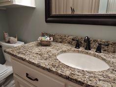 Giallo Ornamental Granite Countertops | Giallo Ornamental Granite Pictures | Santa Cecilia Granite