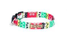 """Doggy Bandanas - качественная и стильная одежда для собак Новогодний ошейник для собак """"Xmas"""""""