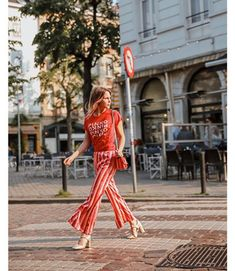Crossing the streets of style wearing  PINKO total look from the 21c8b409d44