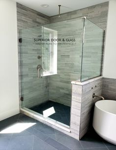 Bathroom interior 863354191048646660 - Beautiful frameless shower enclosure installation by our master craftsmen! It's time to get your bathroom remodel started! Diy Bathroom Remodel, Bathroom Renos, Bathroom Layout, Bathroom Renovations, Bathroom Interior Design, Bathroom Ideas, Shower Ideas, Bathroom Designs, Budget Bathroom