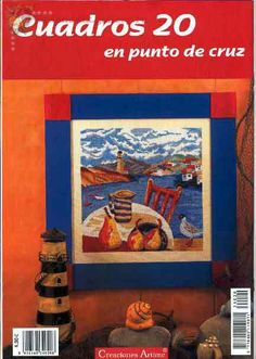 Gallery.ru / Фото #114 - Cuadros 20 - Tatiananik Cross Stitch Magazines, Diy And Crafts, Finding Yourself, Embroidery, Projects, Crossstitch, Painting, Scrappy Quilts, Crafts
