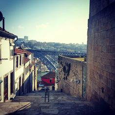 The streets of Oporto