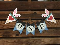 Alice in Wonderland inspired one banner C