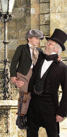 Christmas ~ A Christmas Carol ~ Scrooge & Tiny Tim