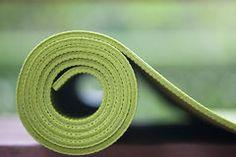 Yoga mat Stock Photos