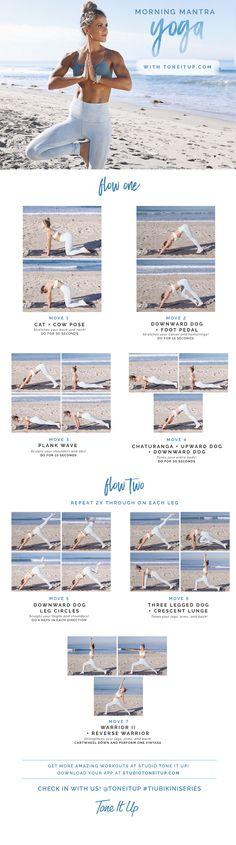 Morning Mantra Yoga — TIU Tuesday! – ToneItUp.com