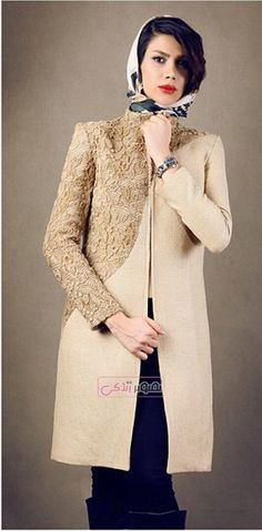 مدل های جدید مانتو دخترانه - مانتو مجلسی 94