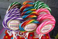 Circus theme - or something with bubblegum?  bubblegum necklaces?
