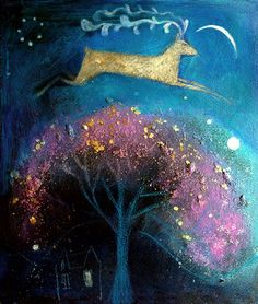 Catherine Hyde Artist - OLD PRINTS SALE - SMALL UNMOUNTED £35 Prints the coballt sky