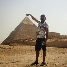 Banky W Egyptian #Pyramids