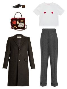 """""""Untitled #5561"""" by amberelb ❤ liked on Polyvore featuring Tom Ford, Yves Saint Laurent, Dolce&Gabbana and STELLA McCARTNEY"""