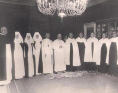 João 23 com 10 religiosos filhos de uma mesma mulher. Nenhum filho dela deixou de aderir ao estado religioso.