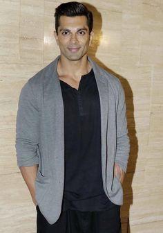 Karan Singh Grover at Krishika Lulla's bash. #Bollywood #Fashion #Style #Handsome