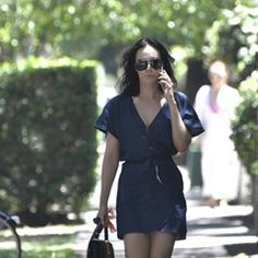 EXCLUSIVE John Ibrahim's girlfriend Sarah Budge looking the goods as she walks dog in Double Bay