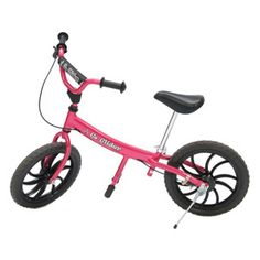 """The 2012 model Designed for the youngest learners, from age 2 to 5 years, the Mini Glider™ is designed for safe, learning fun.The seat can lower to 11"""" and the handle bars to adjust to accommodate the very youngest riders. Item #MG005. Shop at www.morgan-eden.com for more organic and eco-friendly accessories as well as clothing, baby shower gifts, toys AND diaper cakes and diaper cupcakes!"""