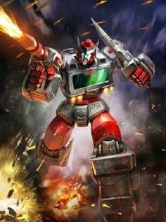 Autobot Ratchet Artwork From Transformers Legends Game