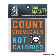 When you read a label do you look at the calories or the ingredients first?  All magnets are Buy 2 Get 1 Free!  Click on the link in our bio.  #gmofree  #nogmo  #nogmos  #wholefoods  #wholefoodsmarket  #farmersmarket  #monsantosucks  #stopmonsanto  #marchagainstmonsanto  #labelgmos  #boycottmonsanto