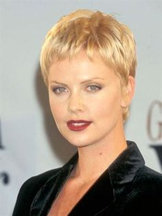 Charlize Theron Hair Styles 1997