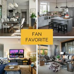 Before we go inside, keep an eye out for your favorite room of HGTV Smart Home 2015. We'll share which room had the most repins and proclaim it our Fan Favorite!