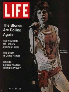 """July 14, 1972 issue ~ Mick Jagger ~ ~ Old Life Magazines ~ Click image to purchase. Enter """"pinterest"""" at checkout for a 12% discount."""