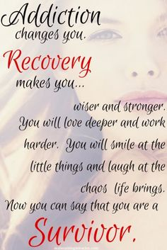 Addiction/ Recovery/ Recover from addiction/ Herion Addiction survivors/ Recovery Quotes/ addiction quotes Sobriety Quotes, Sober Quotes, Aa Quotes, Qoutes, Life Quotes, Sobriety Tattoos, Sobriety Gifts, Lesson Quotes, Life Sayings