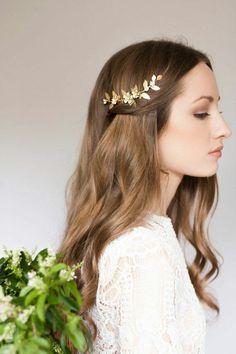 accessoires cheveux coiffure mariage chignon mariée bohème romantique retro, BIJOUX MARIAGE (144)