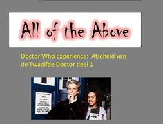 Doctor Who Experience: Afscheid van de Twaalfde Doctor