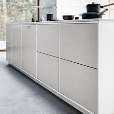 Modu Light Grey keuken – krijg het gevoel van een 'living room' | kvik.nl