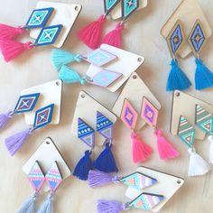 LeJasp — FIESTΔ Tassel Earrings