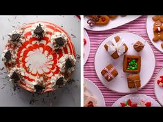 Festive Red Velvet Cheesecake and Other Holiday Recipes! Easy Desserts, Delicious Desserts, Dessert Recipes, Dessert Ideas, Yummy Treats, Baking Recipes, Yummy Recipes, Recipies, Red Velvet Cake Mix