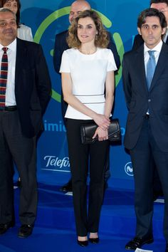 Queen Letizia Ditched Her Suit Blazer For the Perfect Summer Top