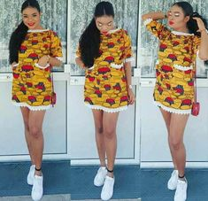 Welcome to Ankara Styles Here is a massive list of Ankara short gown styles you … Ankara Short Gown Styles, Short African Dresses, Trendy Ankara Styles, Short Gowns, African Print Dresses, Ankara Gowns, African Prints, African Fashion Ankara, Latest African Fashion Dresses