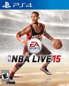 Damian Lillard - NBA LIVE 15 Cover Athlete