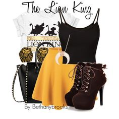 """""""The Lion King"""" by bethanybrooks on Polyvore"""