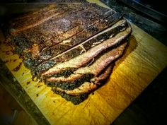 Homemade beef brisket