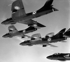 "111 Sqn Hawker Hunters ""Black Diamonds"""
