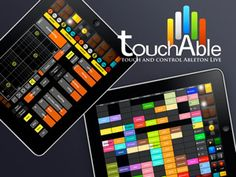 Touchable iPad Ableton Controller